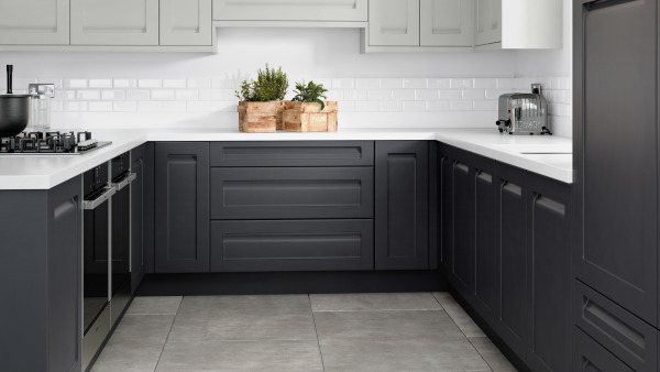 Concept Painted Limestone Anthracite