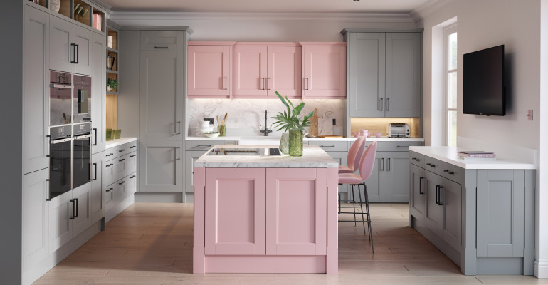 Minster Painted Blush Slate