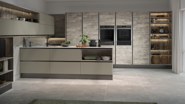 Inset Setosa Sage Grey And Woodgrain Atrium Grey