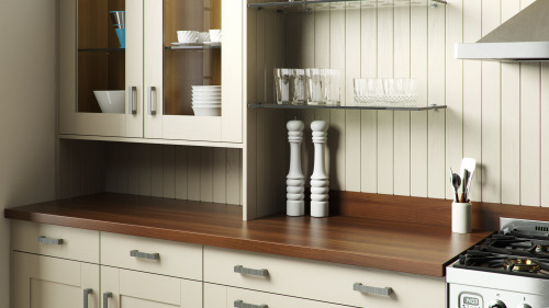 Painted Oyster Wood Shaker