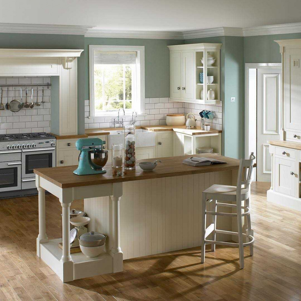 U Shaped Kitchens Accent Colours