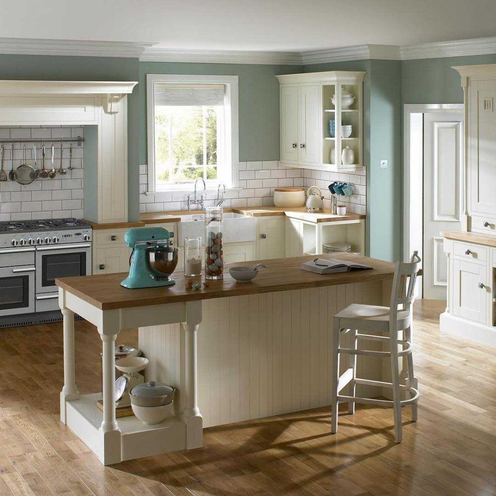 U Shaped Kitchens Accent Colours