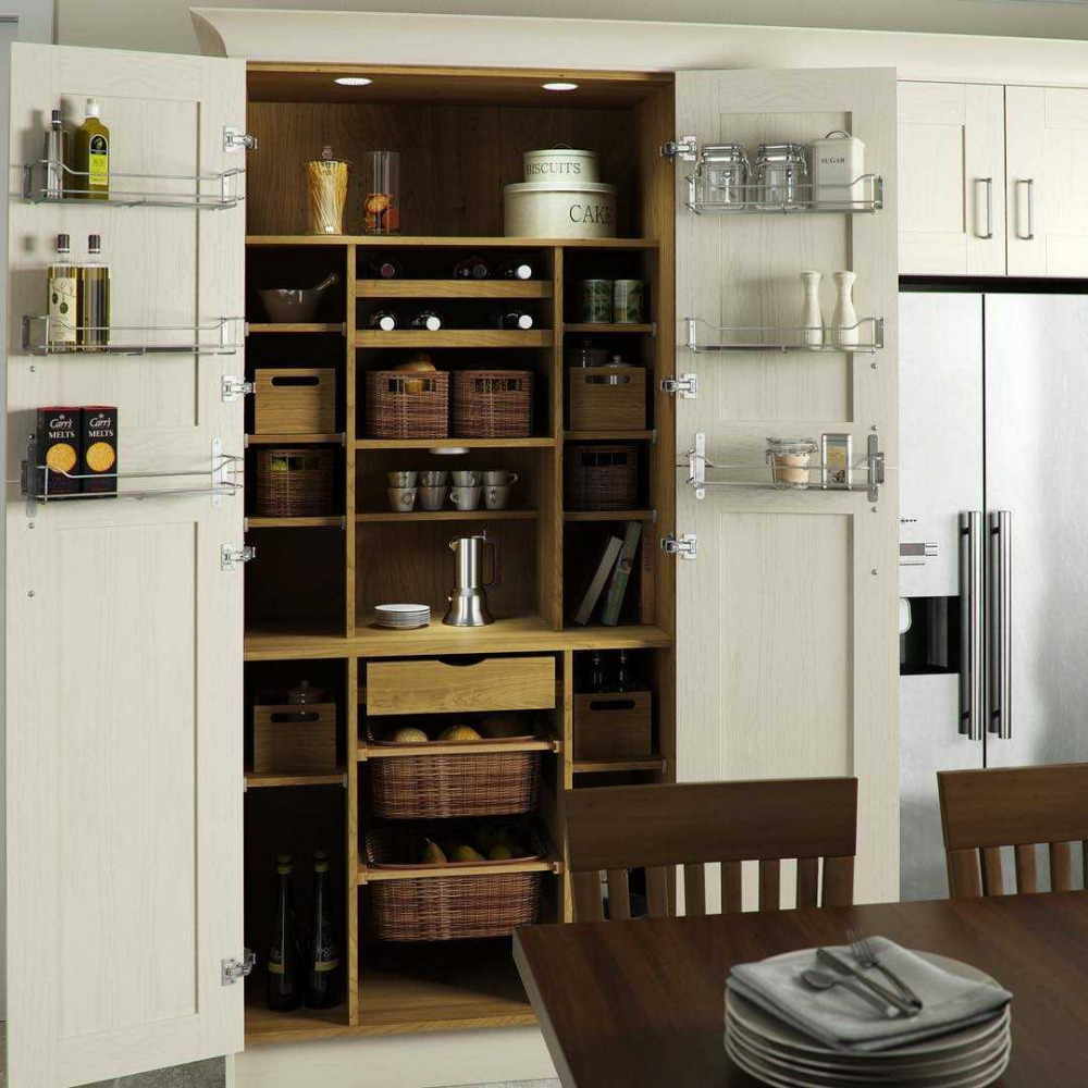 U Shaped Kitchens Tower Unit