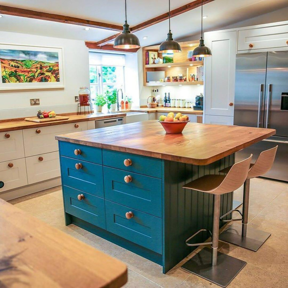 U Shaped Kitchens With Island