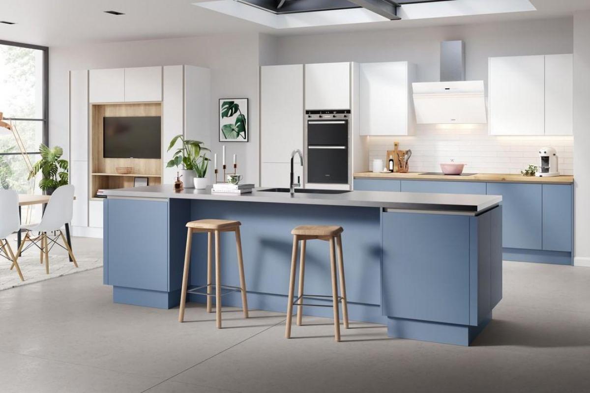 Mackintosh Sky Blue Kitchen