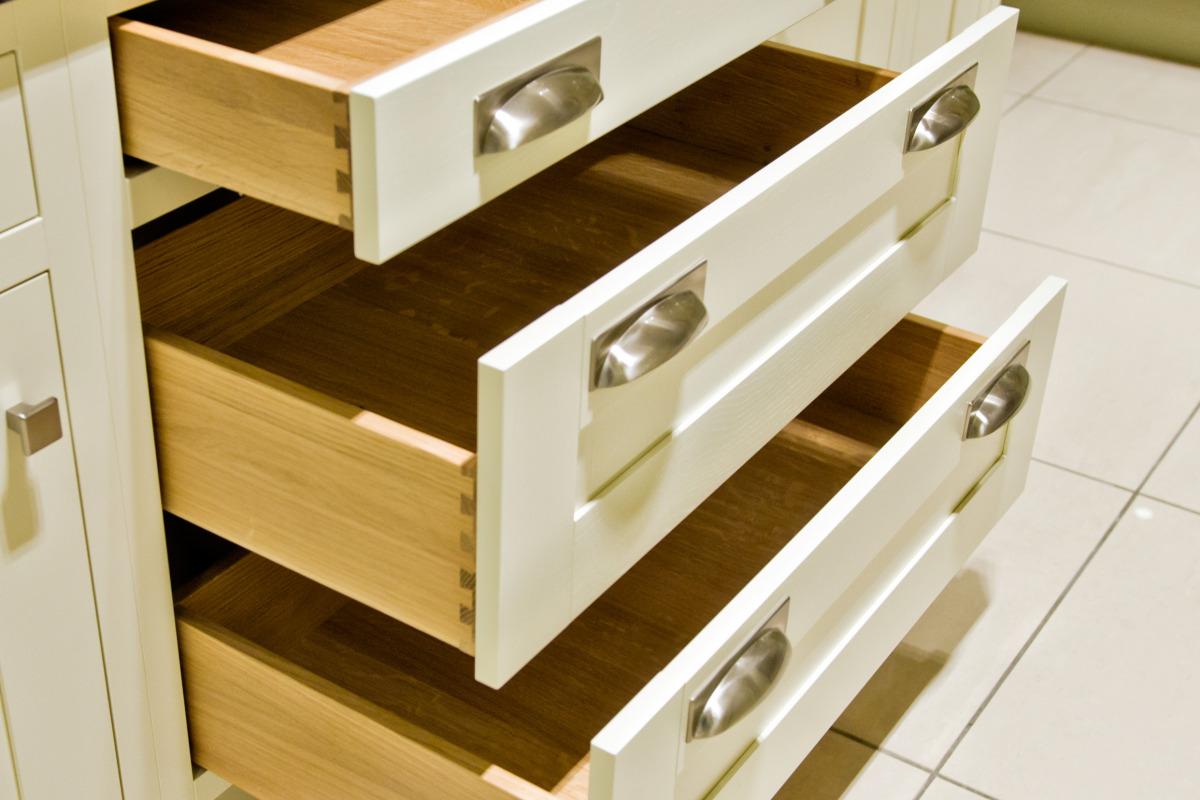 Rta Pan Drawer With Oak Drawer Boxes