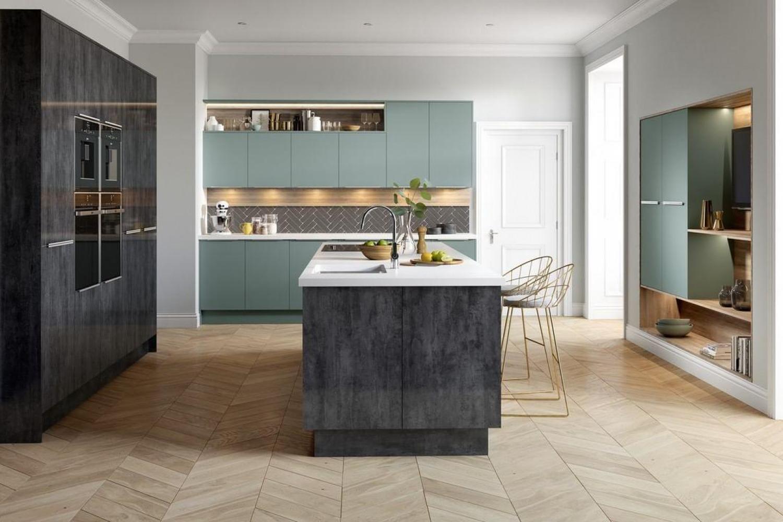 Black Gloss Kitchen Ideas Kitchen Island