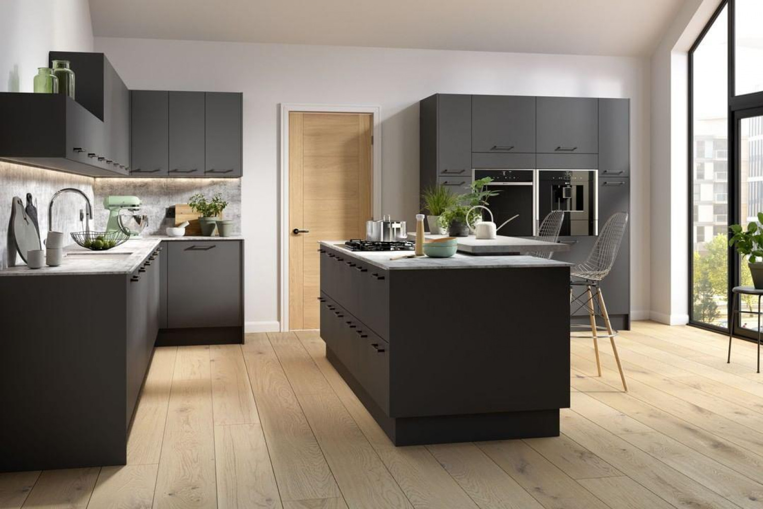 Kitchen Colour Ideas Monochrome