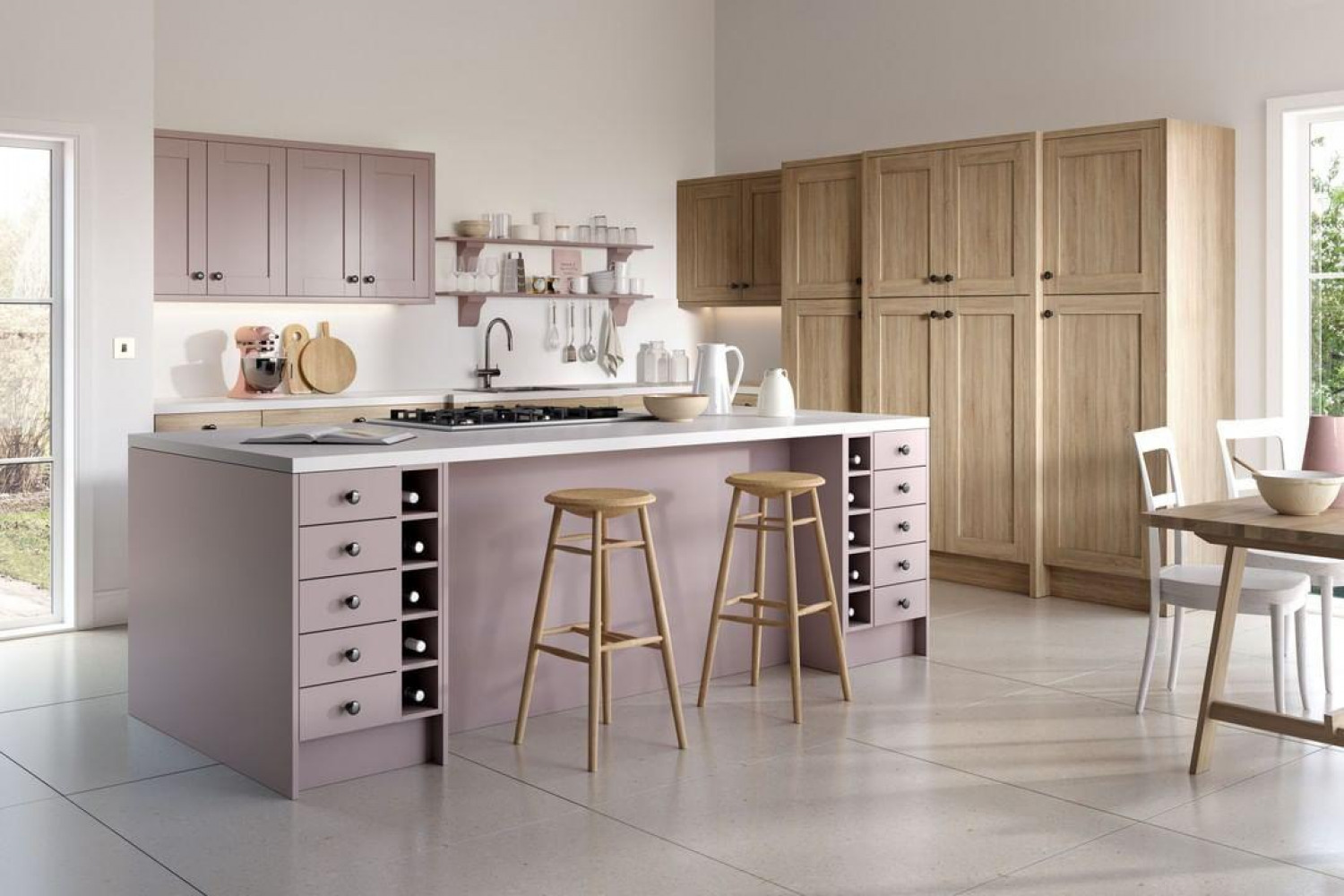 Kitchen Colour Ideas Pastel