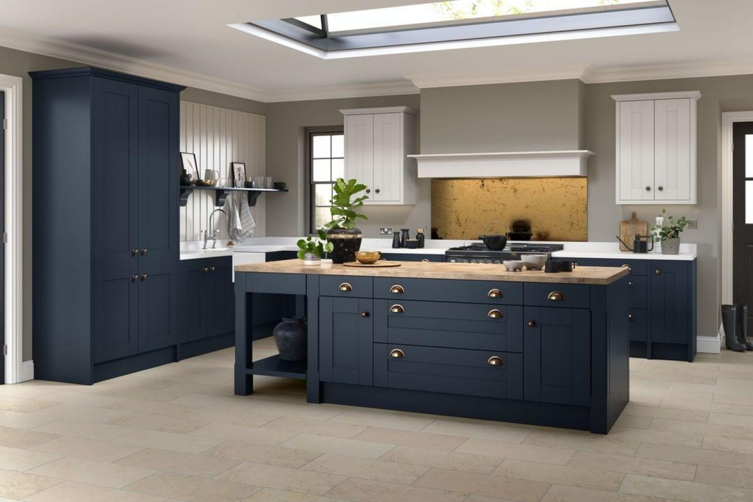 Kitchen Storage Ideas L Shaped Kitchen