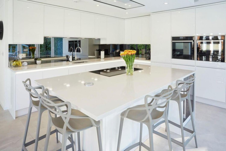White Kitchen Cabinet Ideas All White
