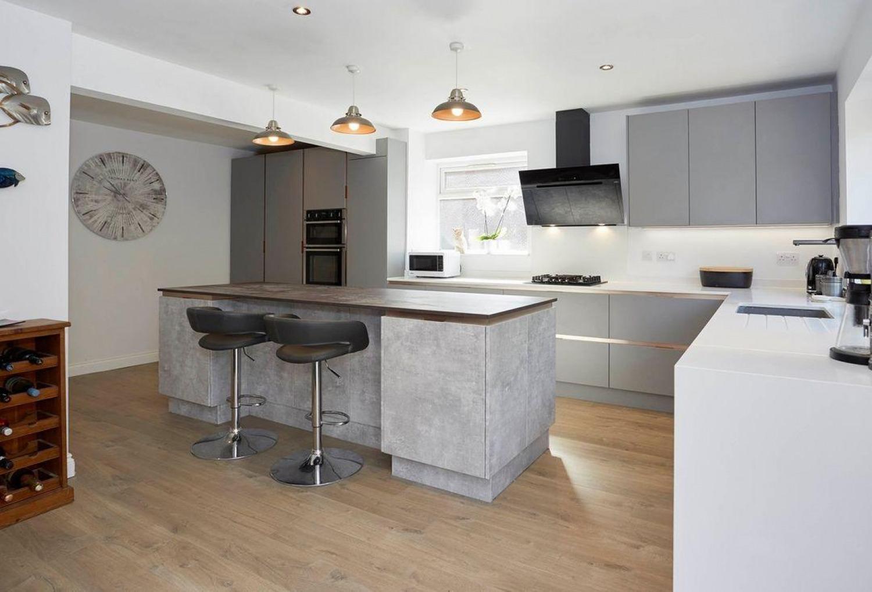 Grey Kitchen Ideas Industrial Style