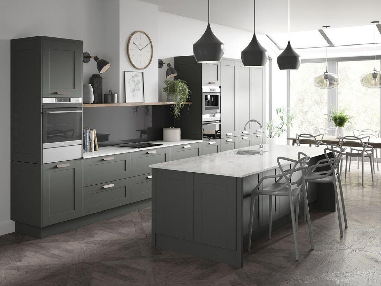 Grey Kitchen Ideas Wood Flooring