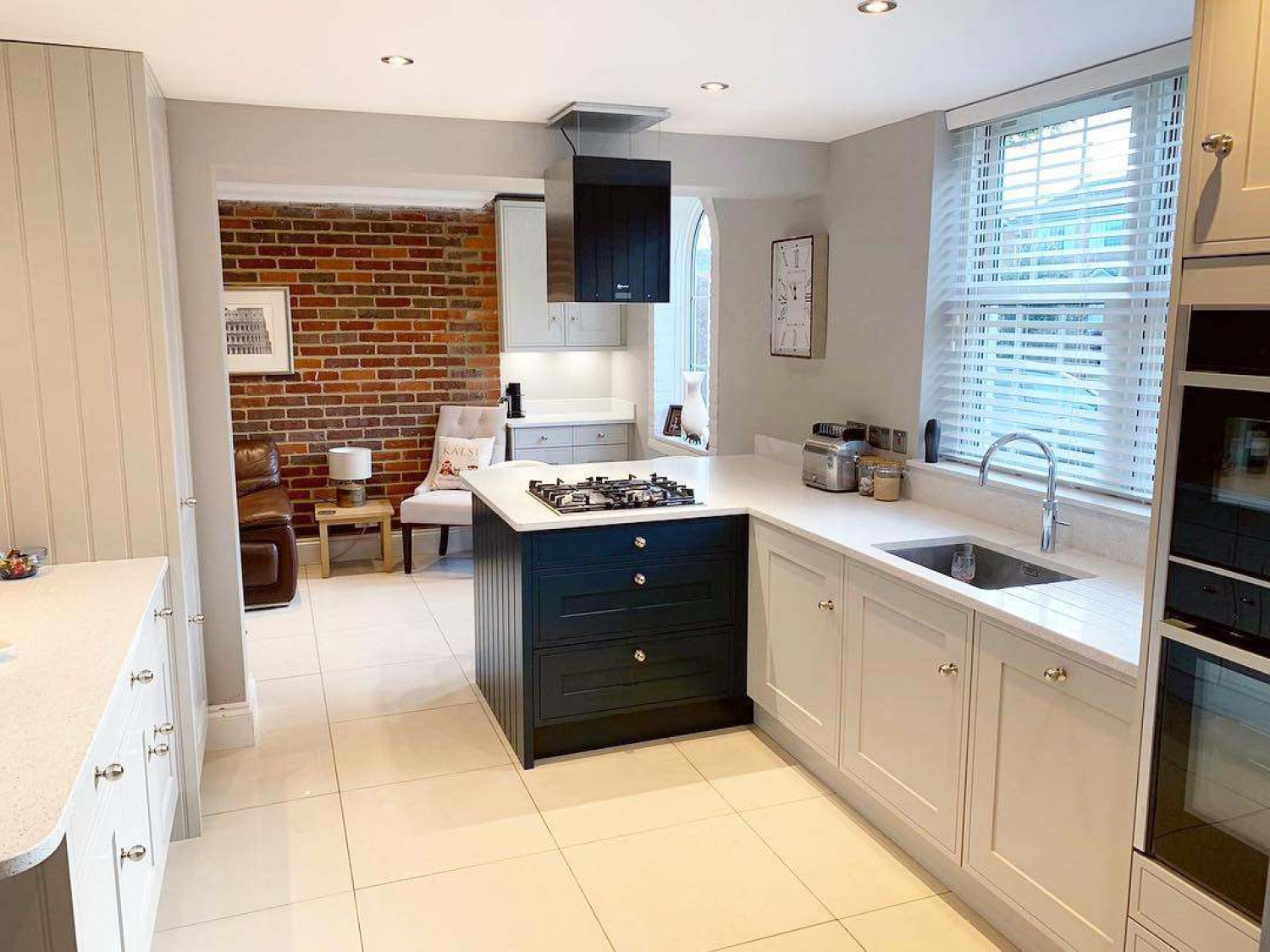 Kitchen Flooring Open Plan