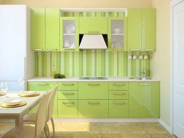 Kitchen Wallpaper Ideas Lime Green Kitchen Wallpaper