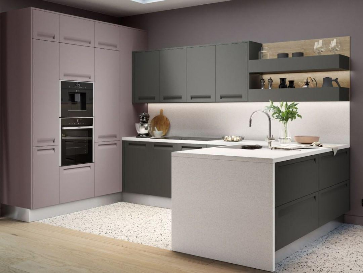 Kitchen Colour Ideas Grey