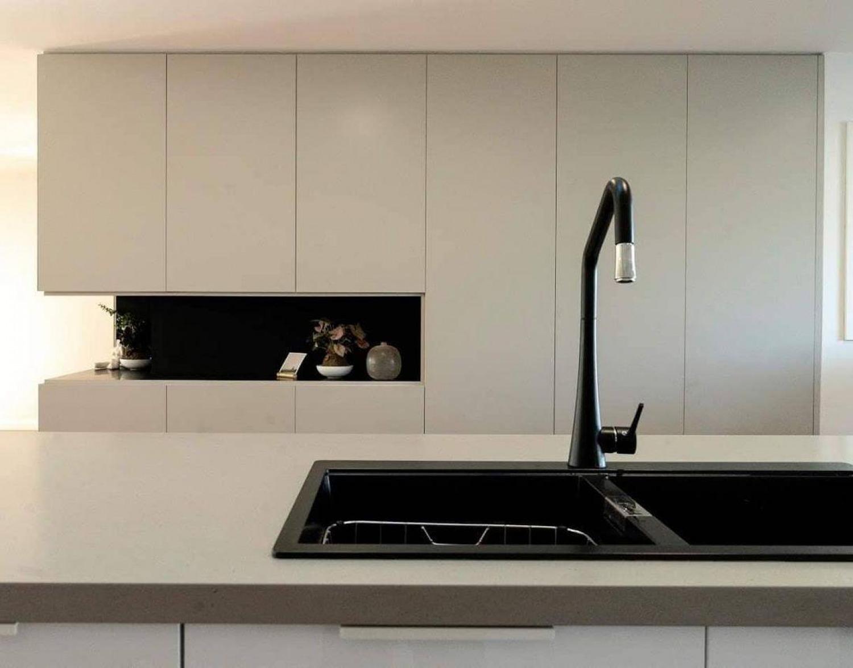 Black And Cream Kitchen Ideas Black Kitchen Sink