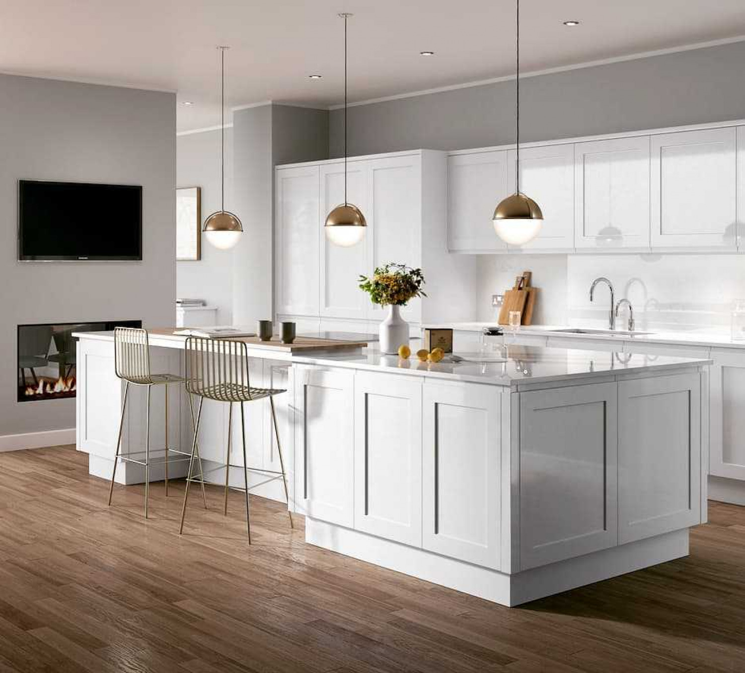 Kitchen Colour Ideas White