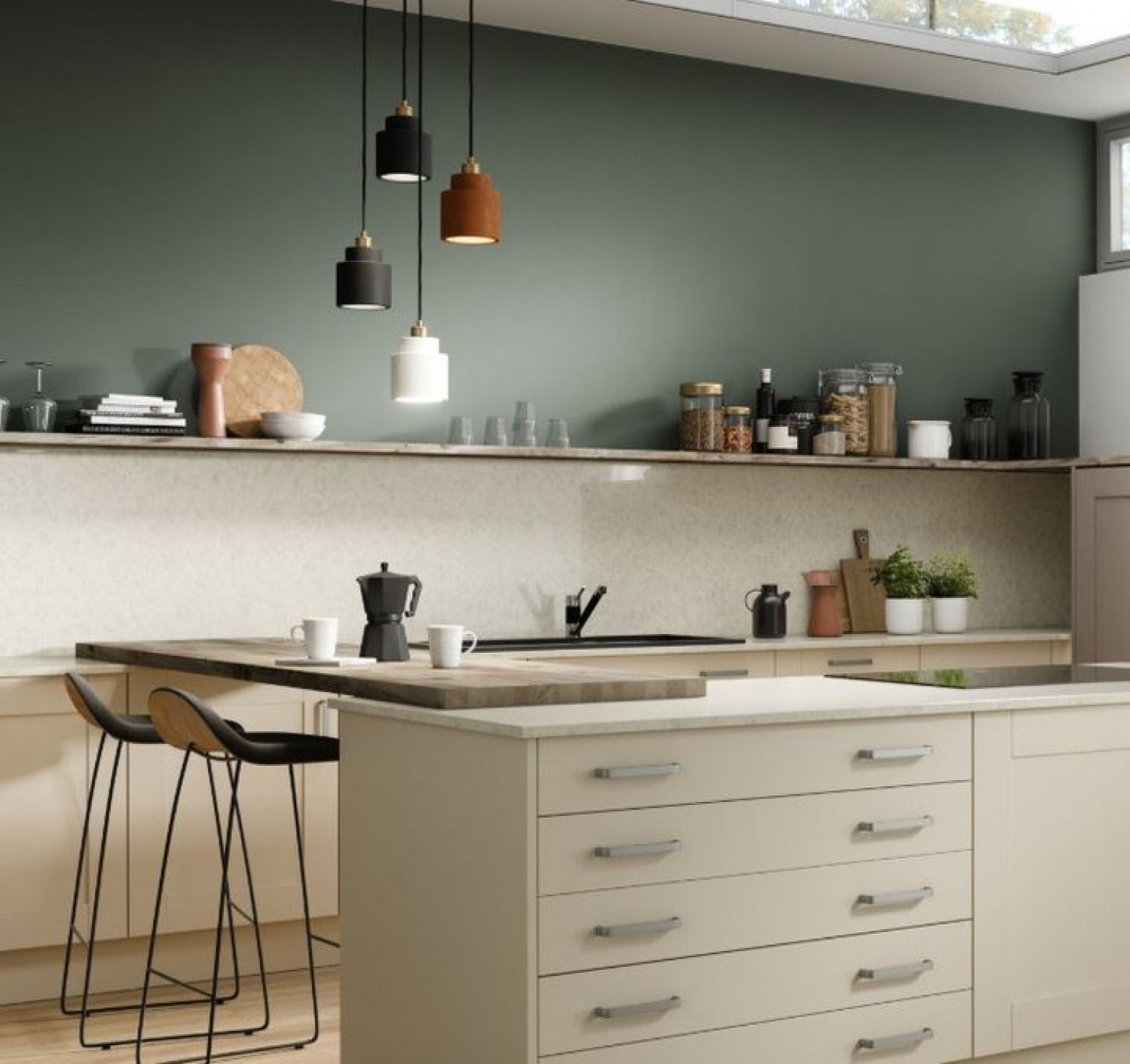 Olive Kitchen Ideas Olive And Neutrals