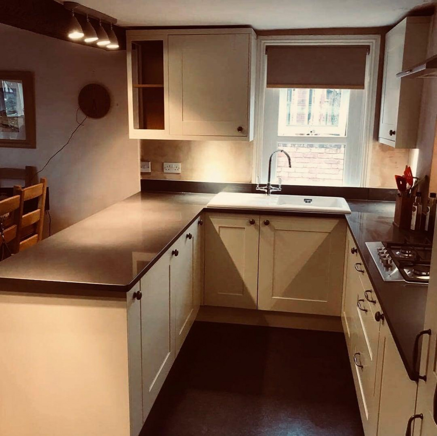 Narrow Kitchens Cupboards