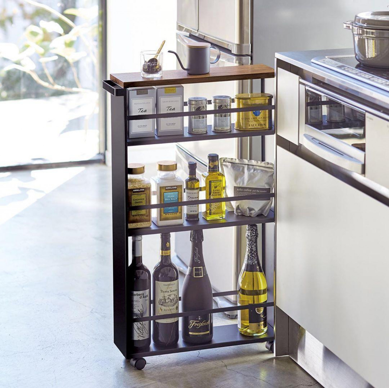 Kitchen Storage Ideas Trolley