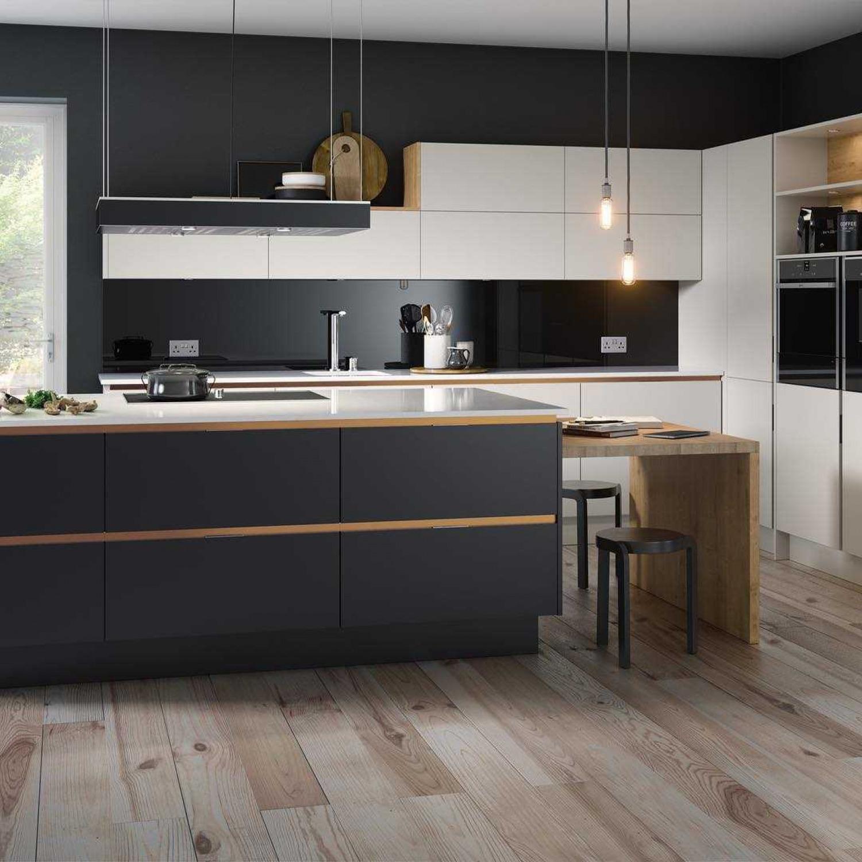 Black And Copper Kitchen Ideas Black Cabinets