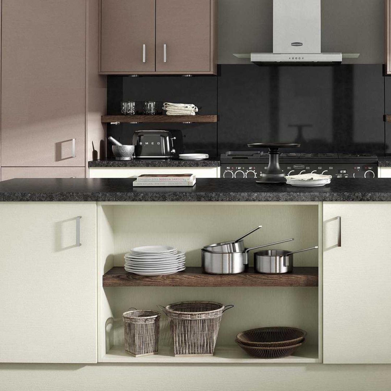 Black Kitchen Worktop Ideas Green Cabinets