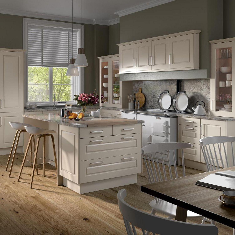 Cream Kitchen Ideas Neutral Shaker Kitchen