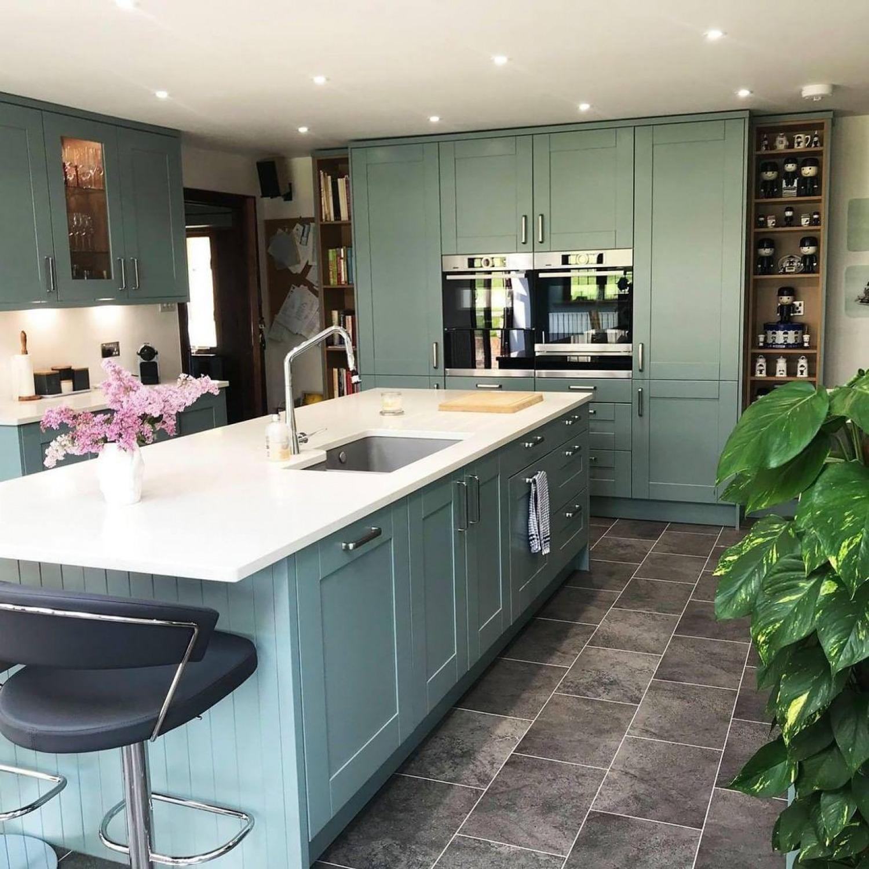 Duck Egg Blue Kitchen Ideas Cabinets