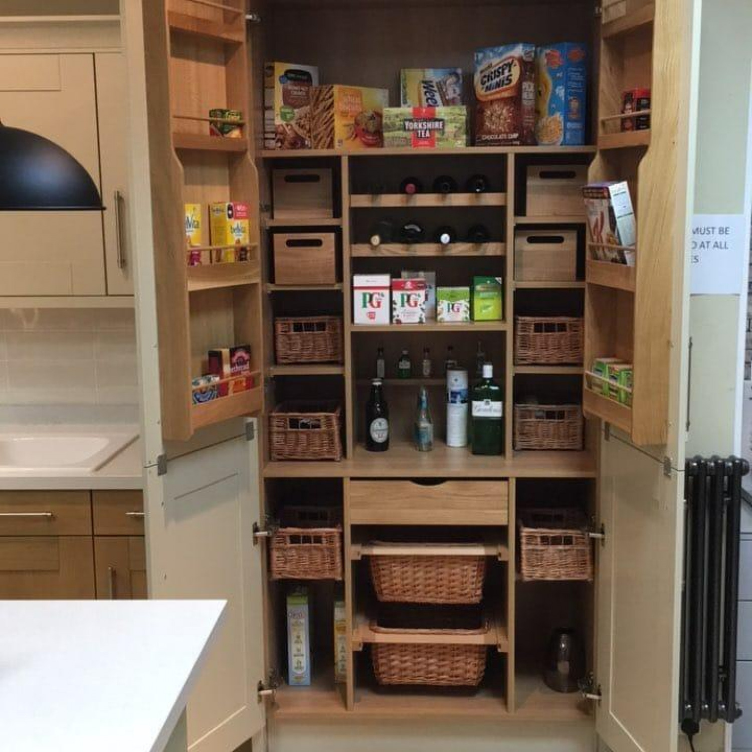 Galley Kitchen Storage