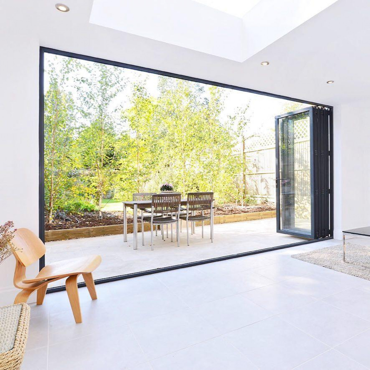 Kitchen Extension Folding Doors
