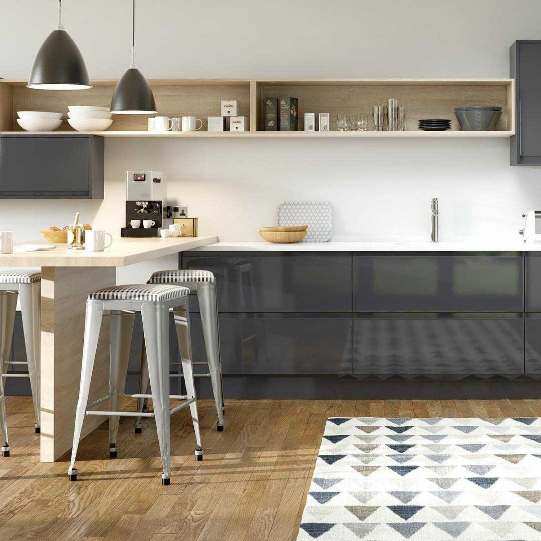 Kitchen Flooring Wood With Rug