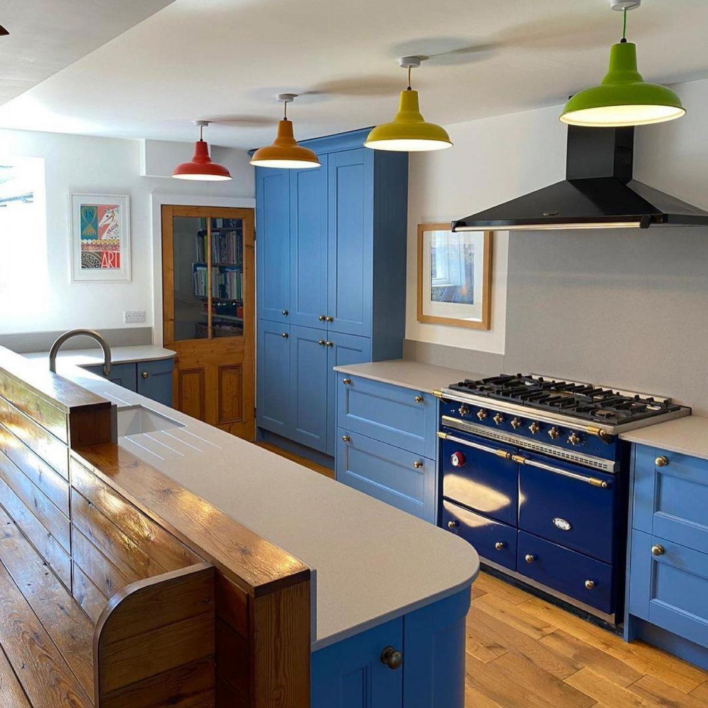 Kitchen Lighting Ideas Colourful Pendant Lights