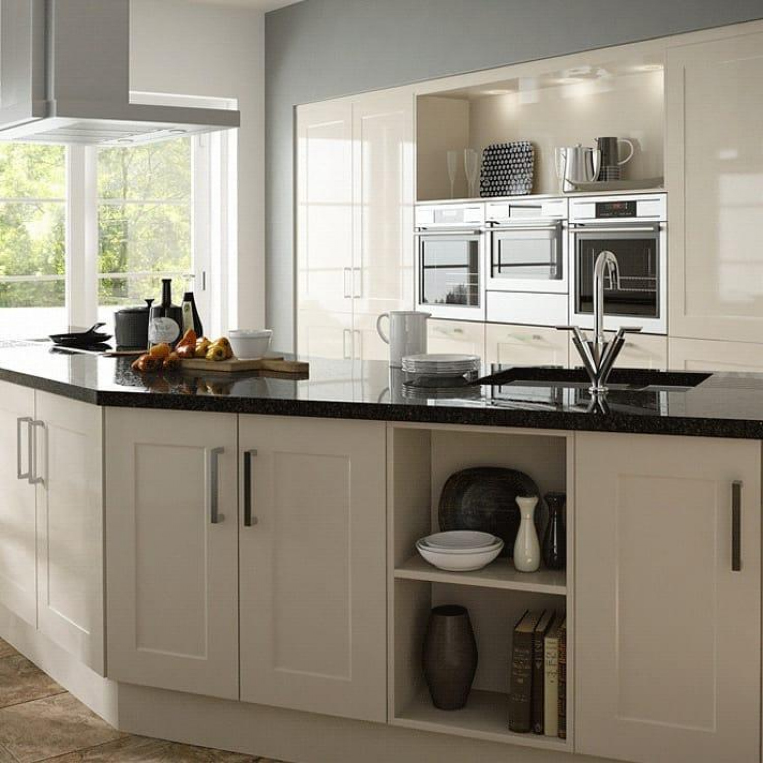 Kitchen Storage Ideas G Shaped Kitchen