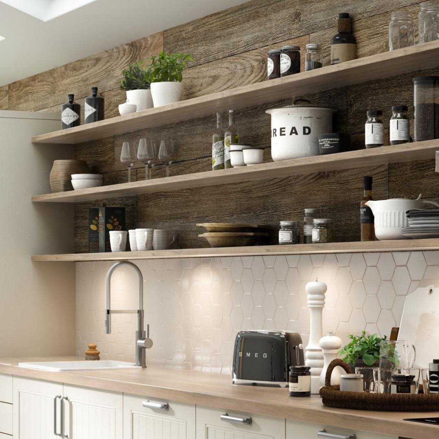 Kitchen Storage Ideas Open Shelving