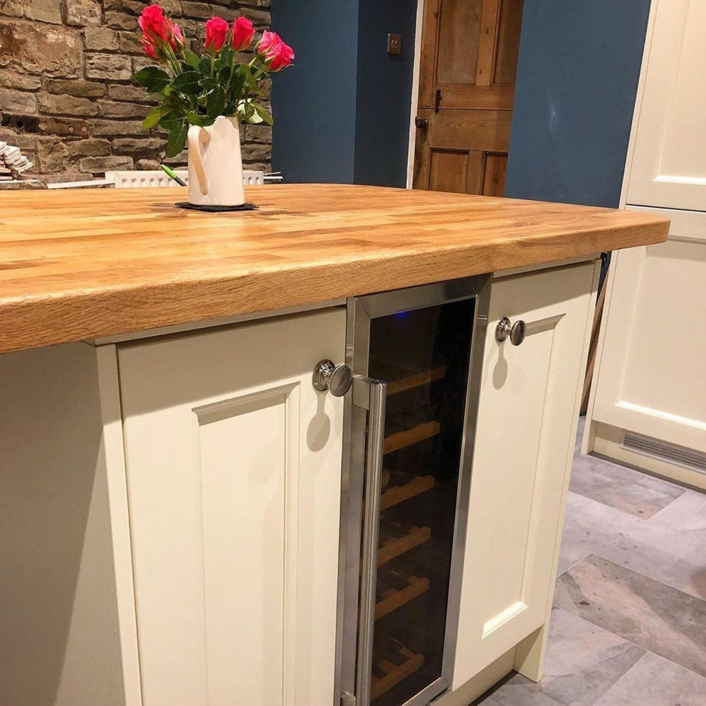 Laminate Worktops Cream Cabinets