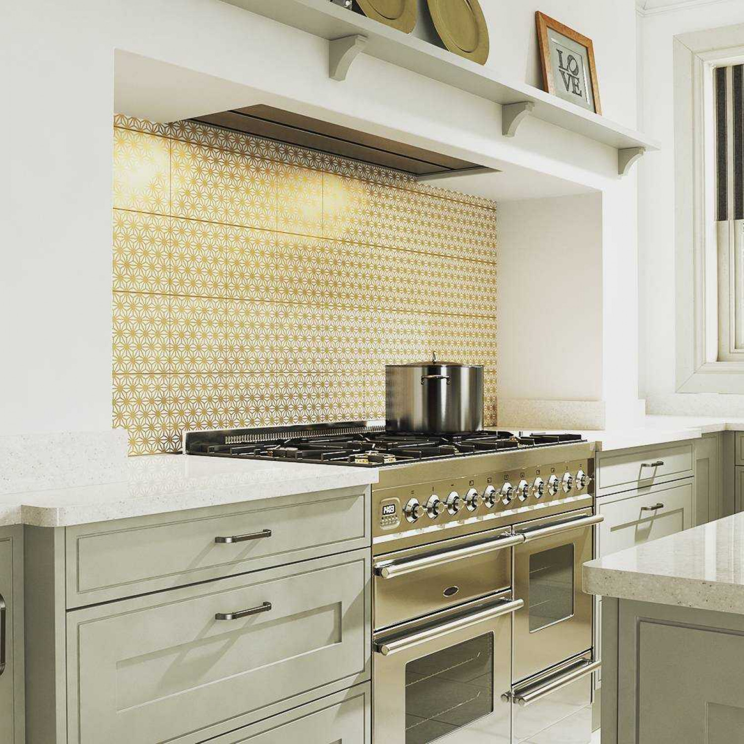 Narrow Kitchens Splashback