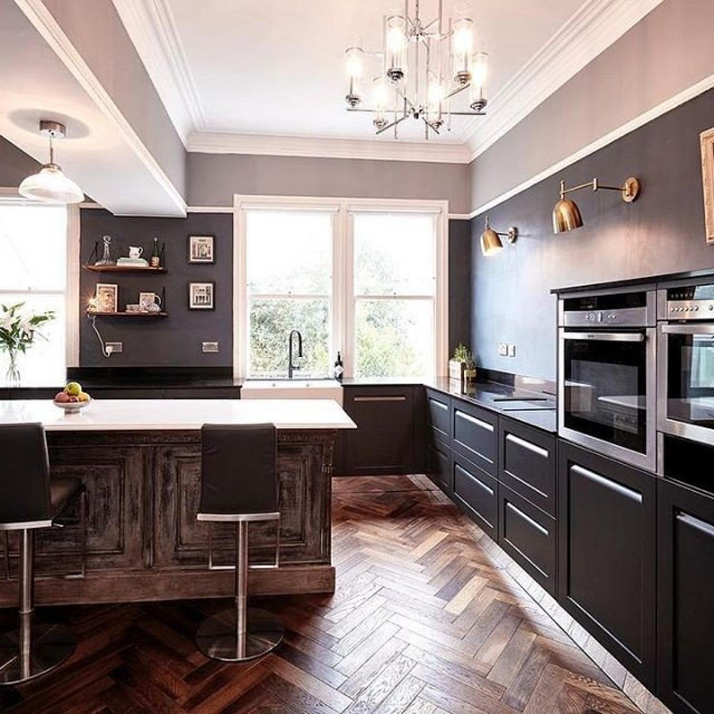 Navy Kitchen Ideas Black And Blue