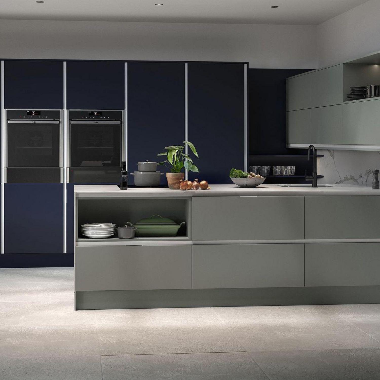 Navy Kitchen Ideas Kitchen Zones