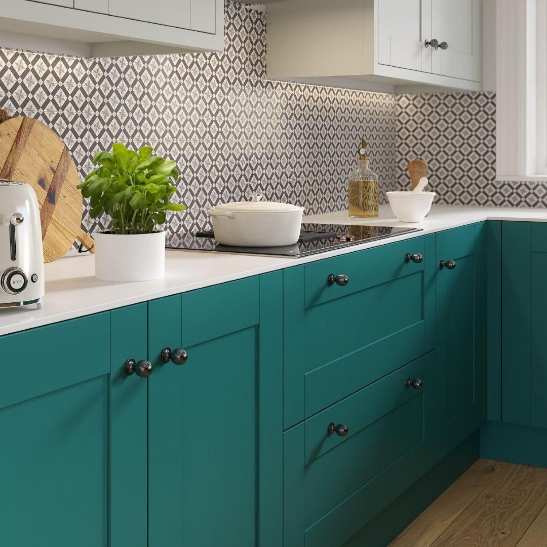Teal Kitchen Ideas Teal Kitchen Cabinets