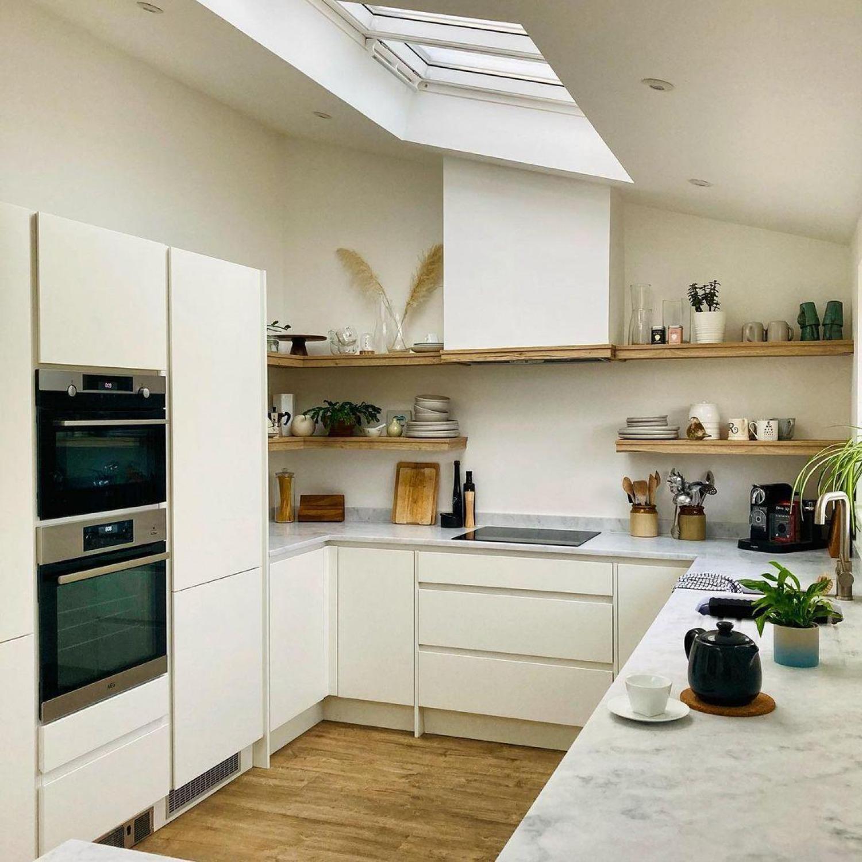 White Kitchen Cabinet Ideas Different Textures
