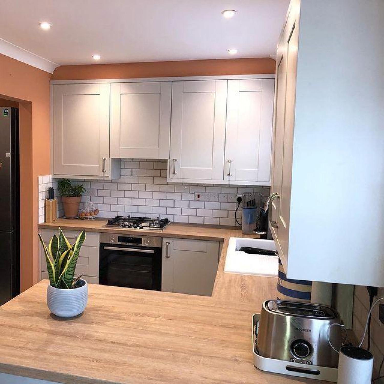 White Kitchen Wooden Worktops Why Choose Wood