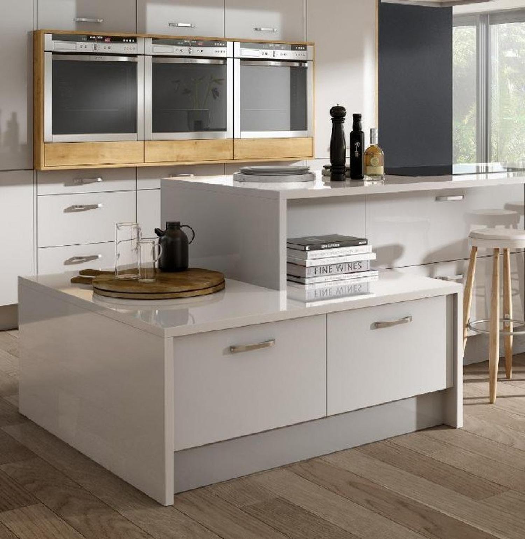 White Kitchen Worktop Ideas All White Kitchen