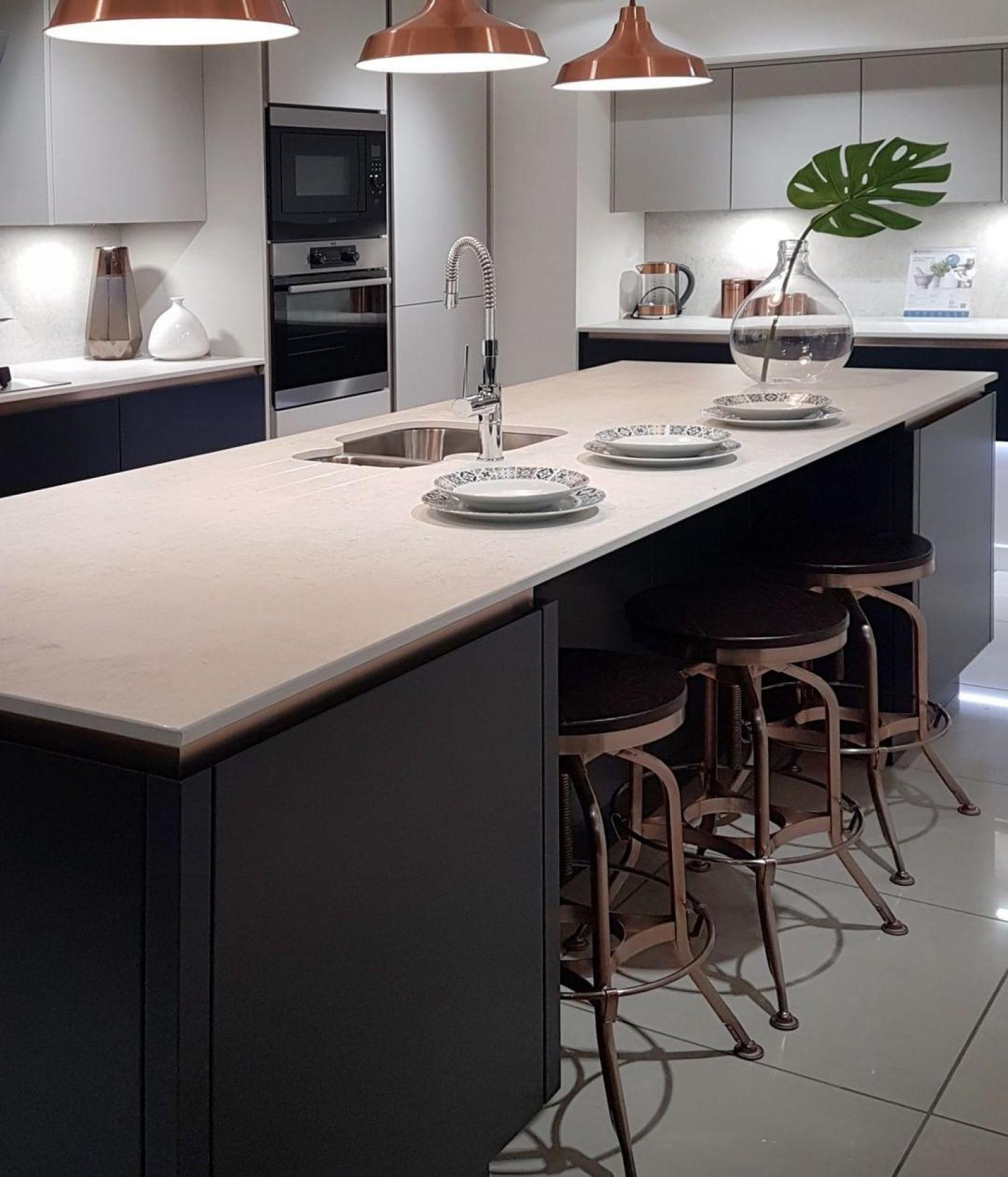Black And Copper Kitchen Ideas Copper Accents