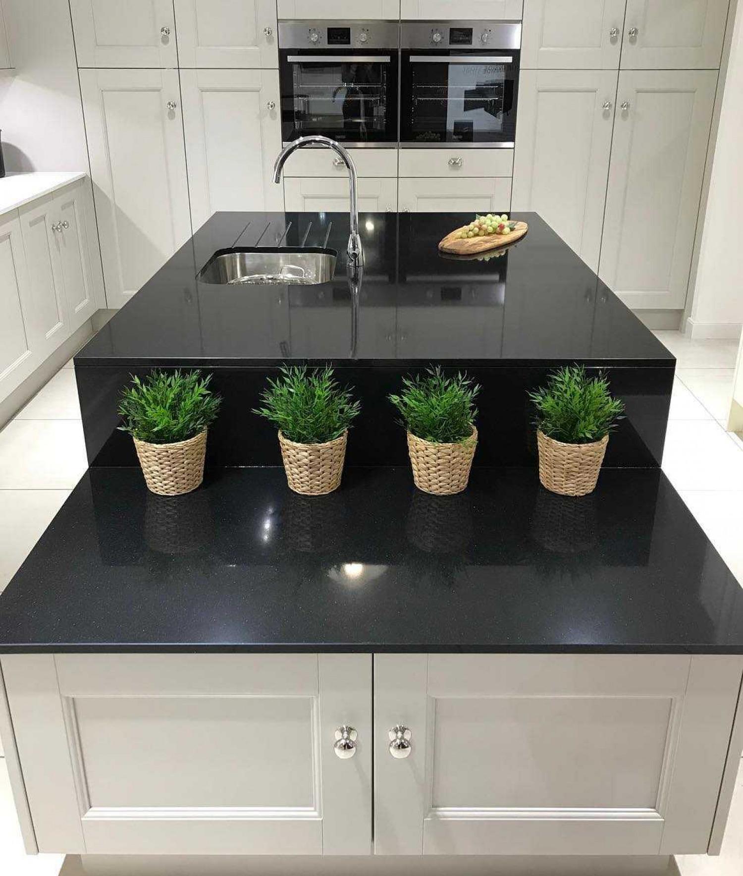 Black Kitchen Worktop Ideas Easy To Clean