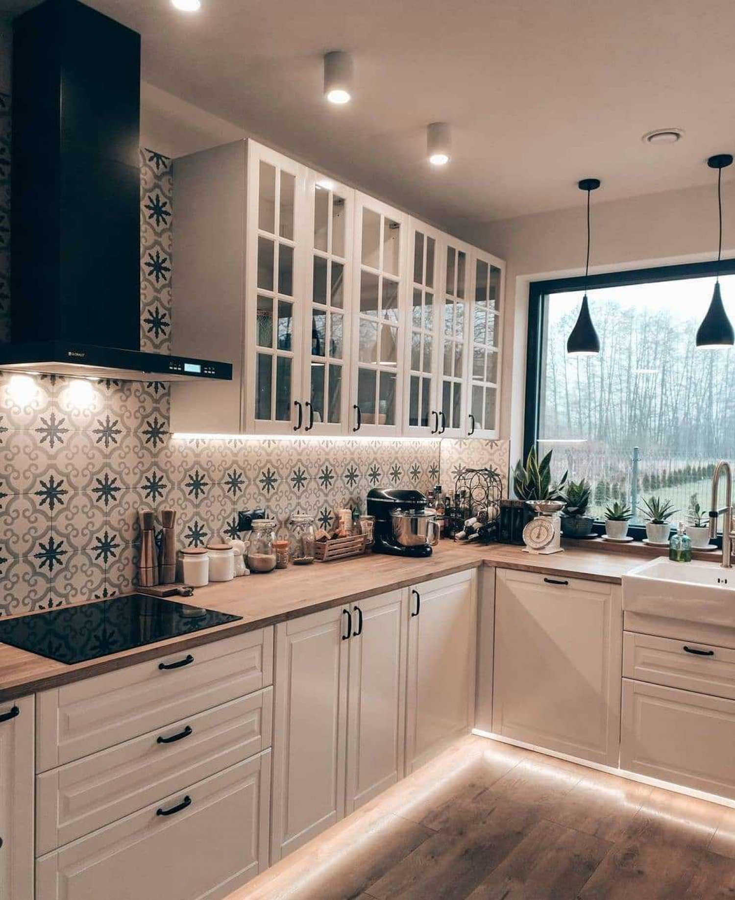 Teal Kitchen Ideas Teal Tile Backsplash