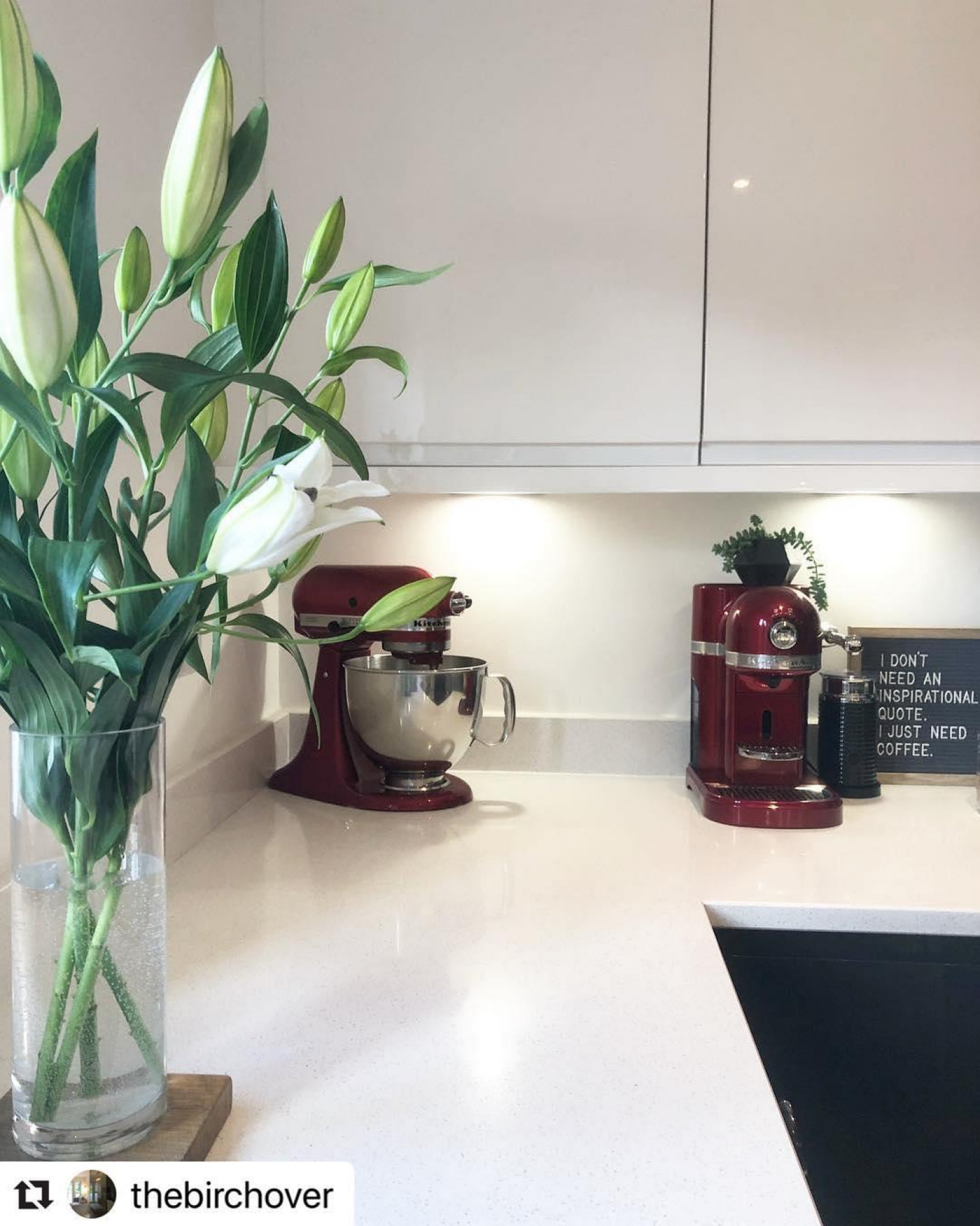 Red Kitchen Ideas Accent Red Appliances