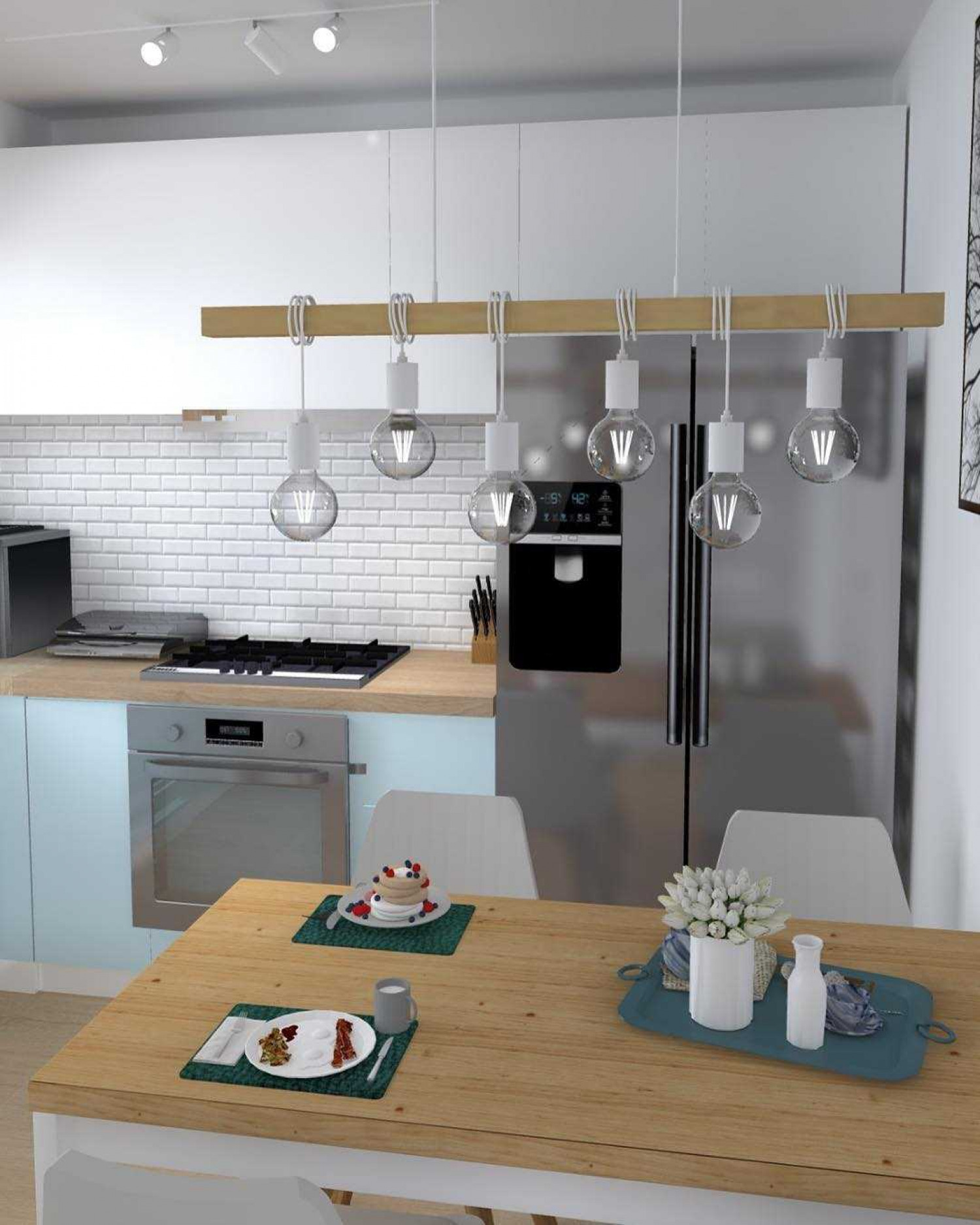 Image of: Track Lighting Ideas For Your Kitchen Omega Plc
