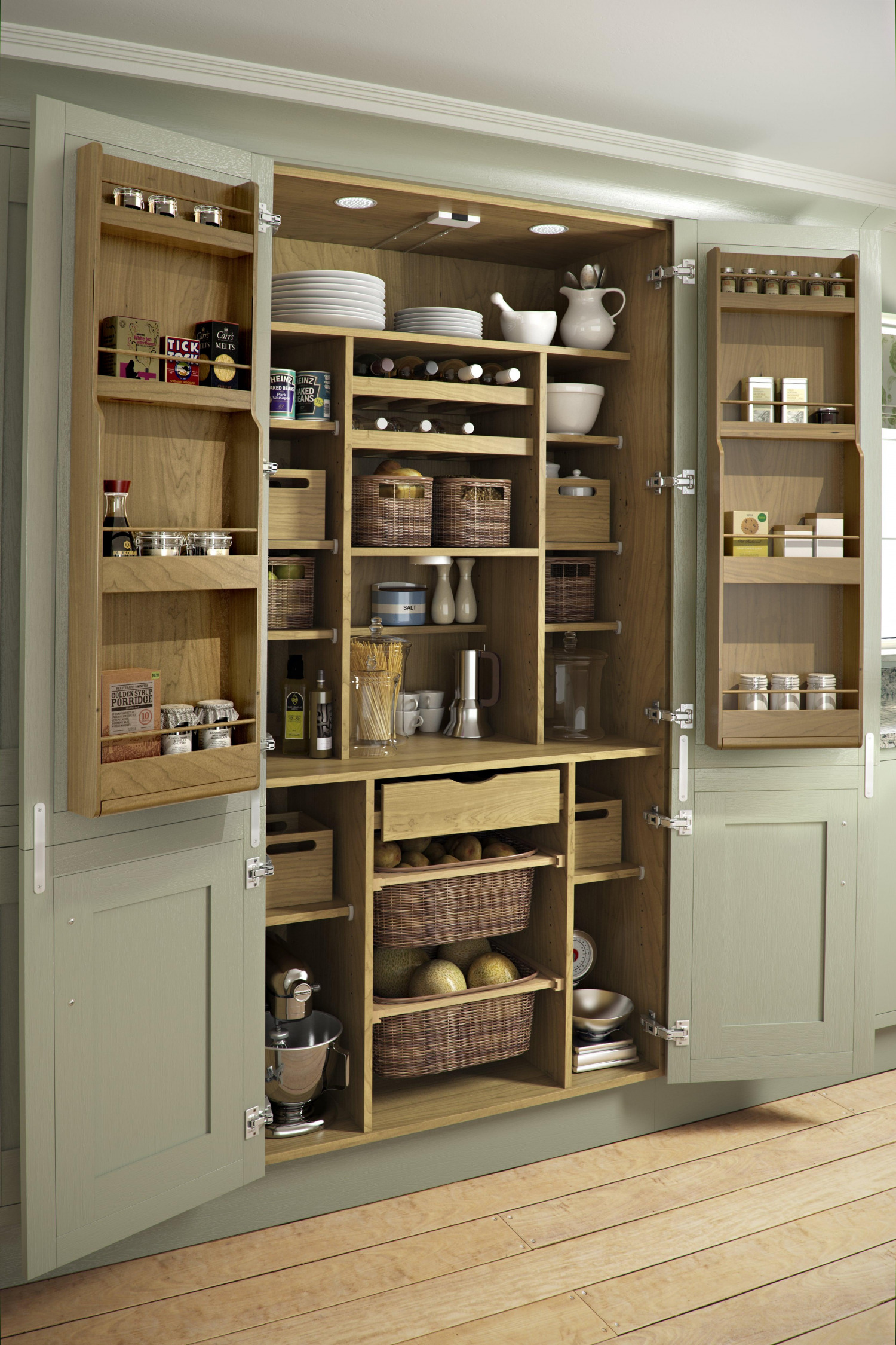 kitchen shelving: discover storage ideas for your home | omega plc