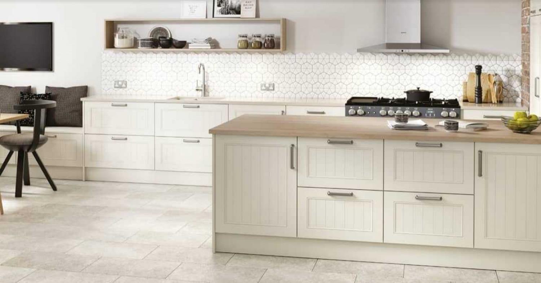 Cream Kitchen Interiors Patterns